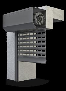Rj Châssis - EkoOkna - Porte de garage grille à enroulement